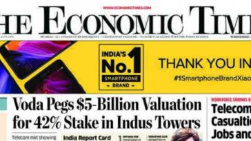 Xiaomi en periódicos de India