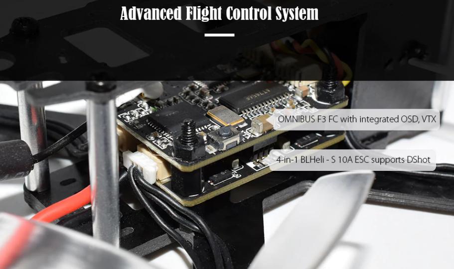 Control de vuelo QAV105mm