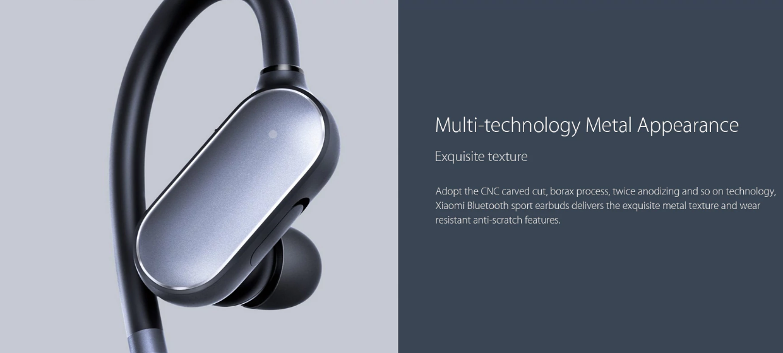Diseño audífonos inalábricos de Xiaomi