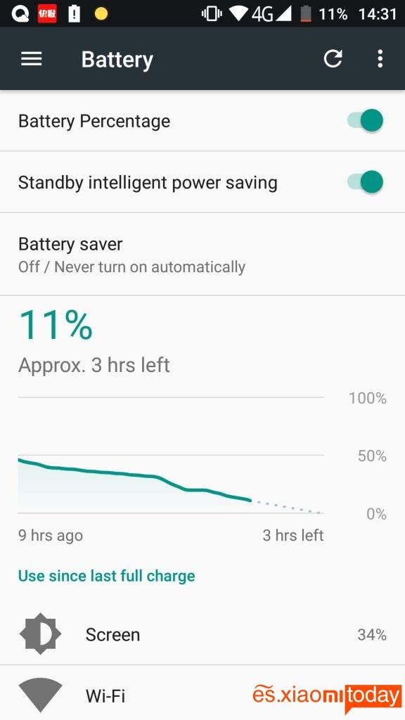Jesy J9S análisis batería