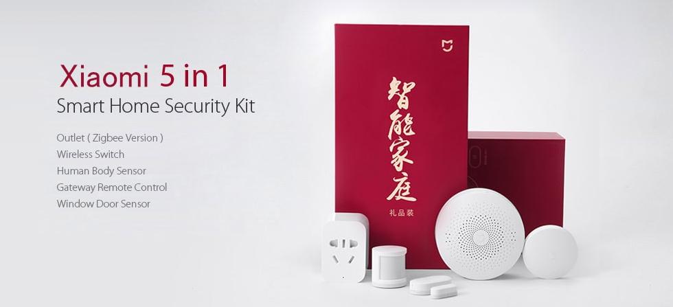 Kit de seguridad Xiaomi destacada