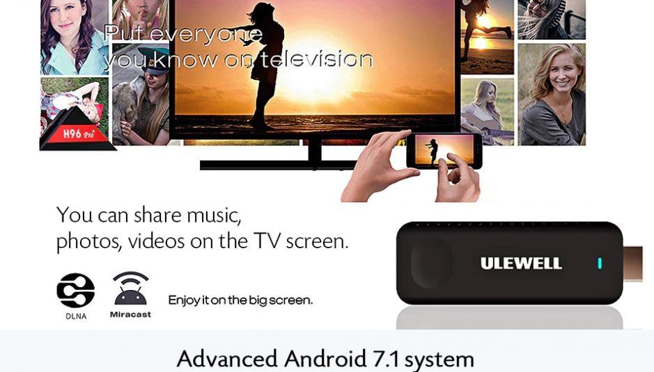 Mini Dongle de TV Z28 de ULEWELL