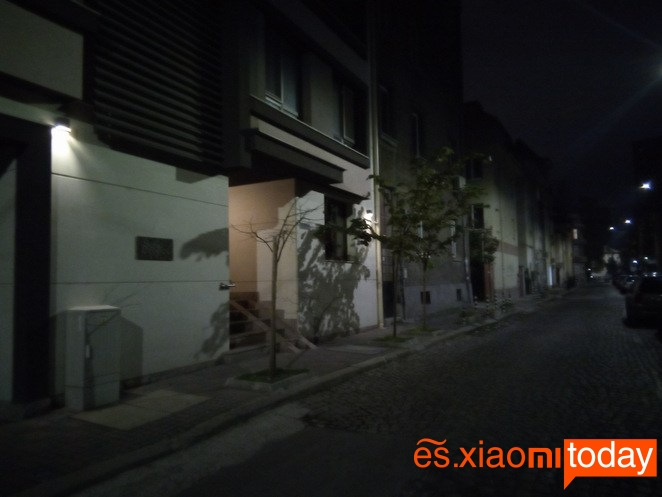 Vernee MIX 2 foto nocturna