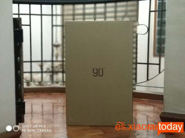 Xiaomi 20 inch Metal Travel Suitcase caja