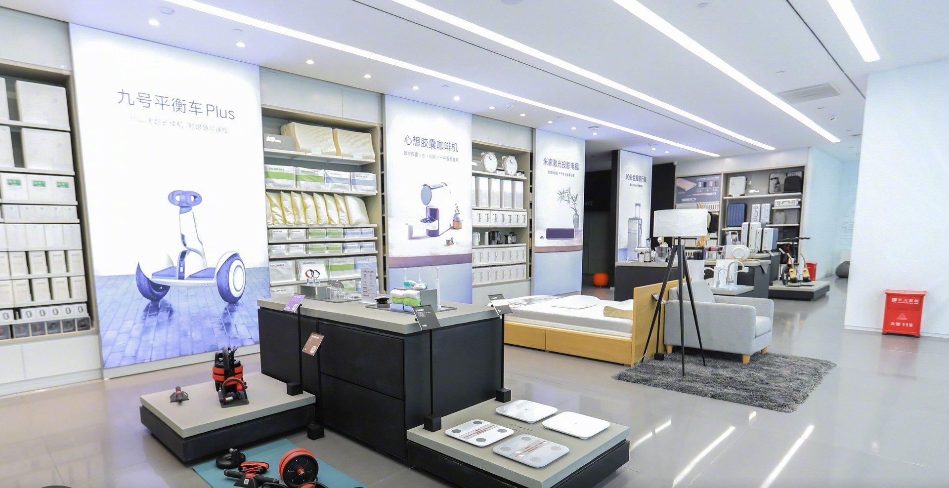 nueva tienda insignia de lujo de xiaomi en shenzhen. Black Bedroom Furniture Sets. Home Design Ideas