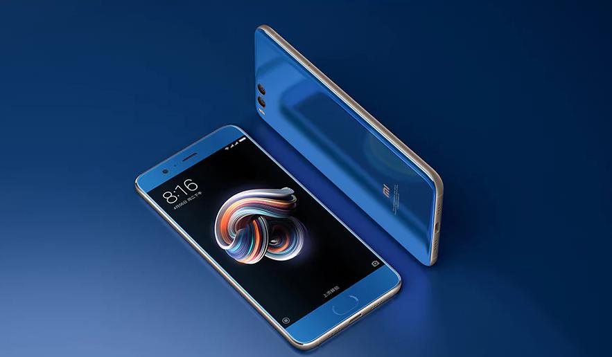 Xiaomi Mi Note 3 azul