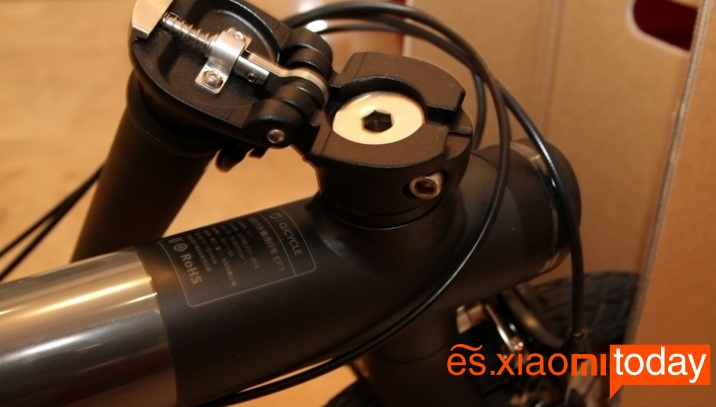 Xiaomi QiCYCLE EF1 manubrio plegable