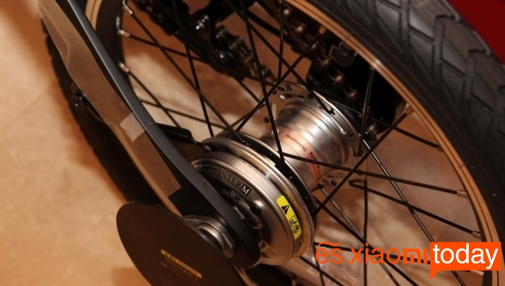 Xiaomi QiCYCLE EF1 motor