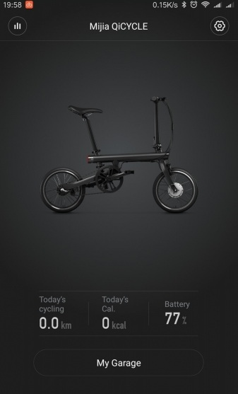 Xiaomi QiCYCLE EF1 sincronización