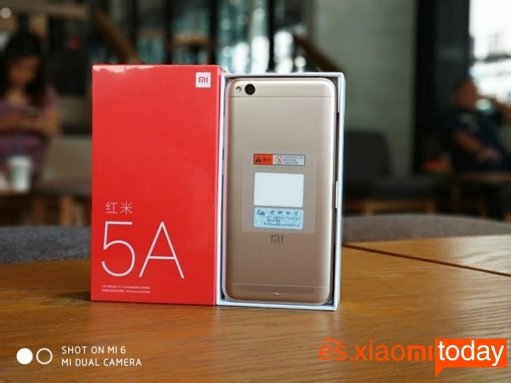 El Xiaomi Redmi 5A se actualiza