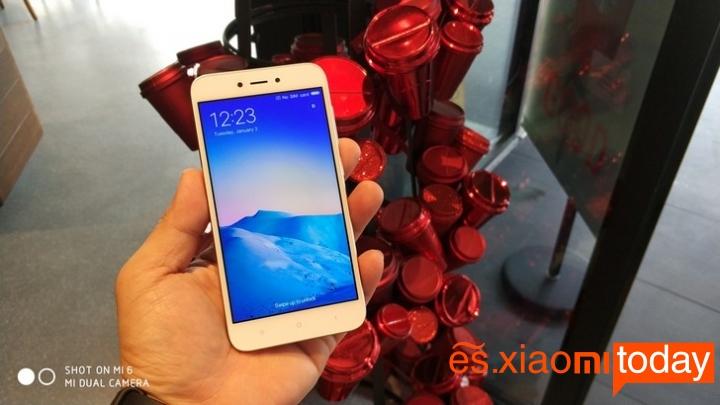 Xiaomi Redmi 5A sistema operativo