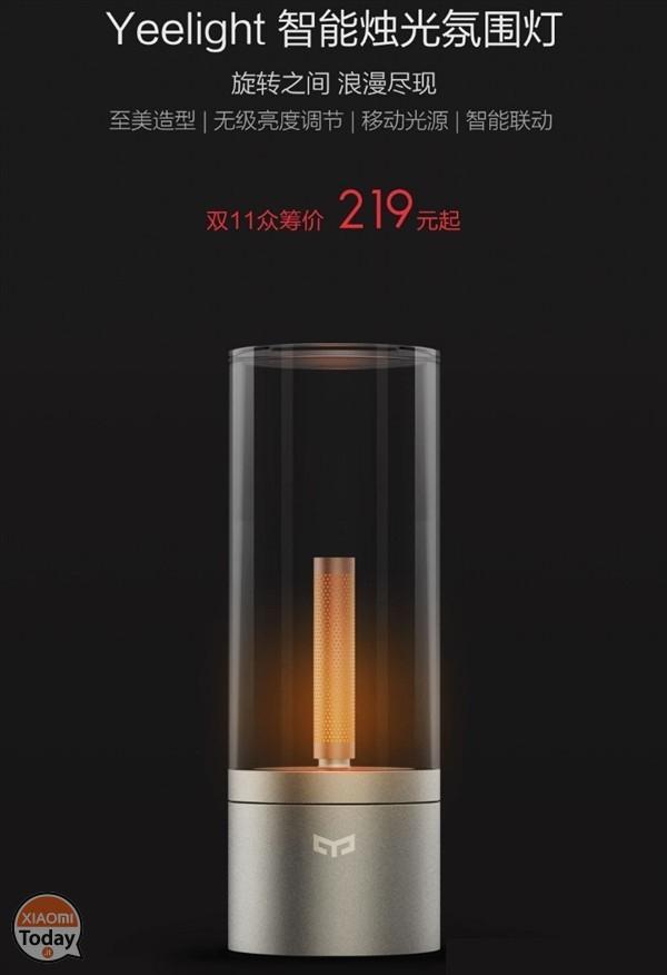 Xiaomi Yeelight Smart Candle precio