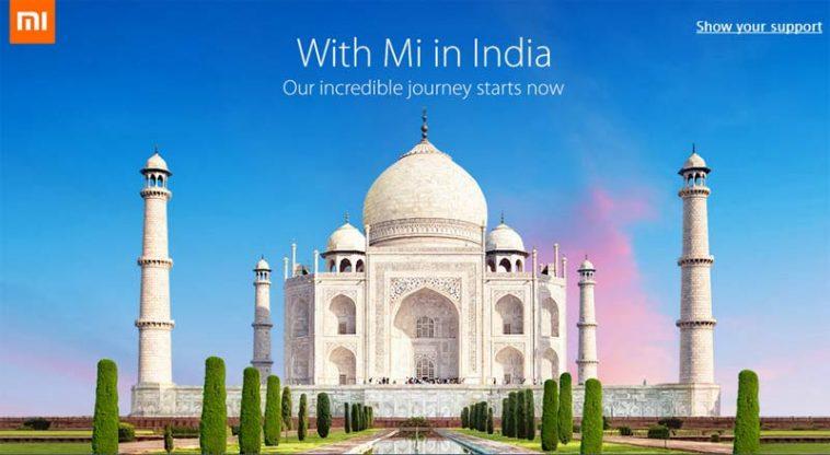 Xiaomi y la India