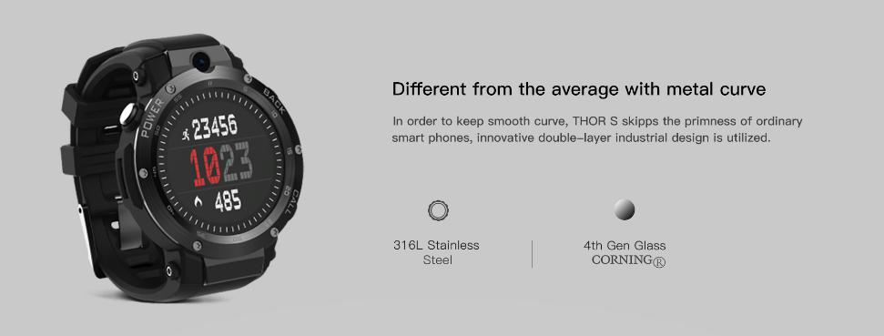 Zeblaze Thor S diseño