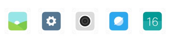 MIUI 9 Iconos animados