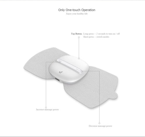 Máquina de masajes de Xiaomi funciones