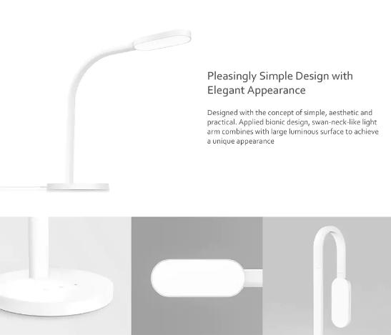 Lámpara de mesa inteligente Yeelight diseño
