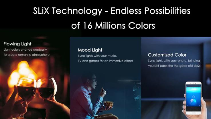 Xiaomi Yeelight RGBW E27 funciones