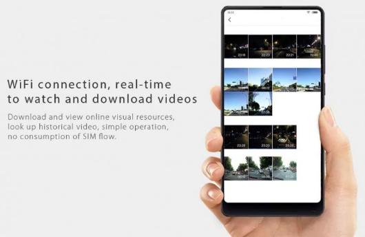Xiaomi 70 Minutes Smart Car conexión Wifi