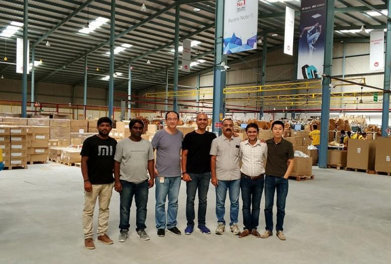 Almacén Xiaomi en India