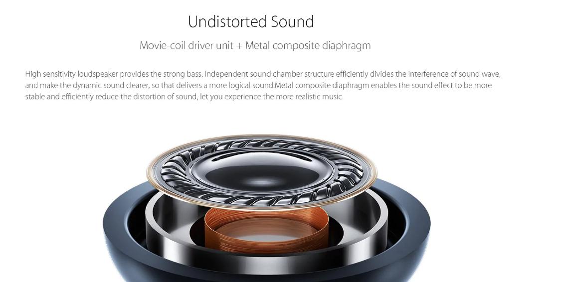 sonido auriculares inablámbricos Xiaomi