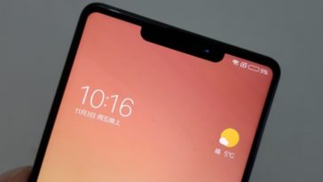 Supuesto Xiaomi Mi MIX 2S