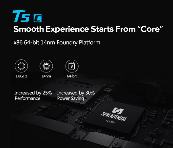 LEAGOO T5c es el primer teléfono inteligente del mundo equipado con el SOC Spreadtrum SC9853I