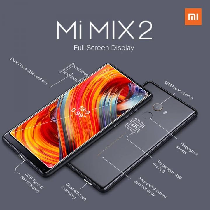 Xiaomi Mi MIX Centro Pompidou