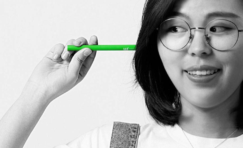 Xiaomi cigarrillos electrónicos verde manzana