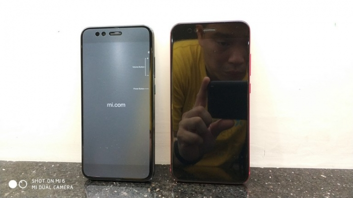 Xiaomi Mi A1 vs Xiaomi Mi 5X dimensiones