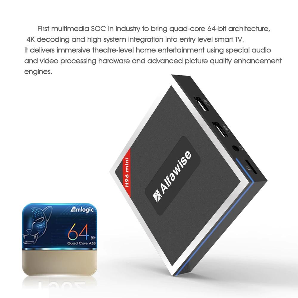 Alfawise H96 Mini TV Box - Gearbest CES 2018