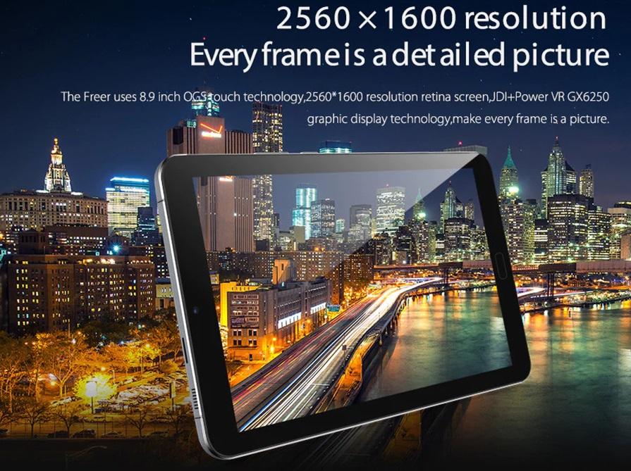 Alldocube Freer X9 screen