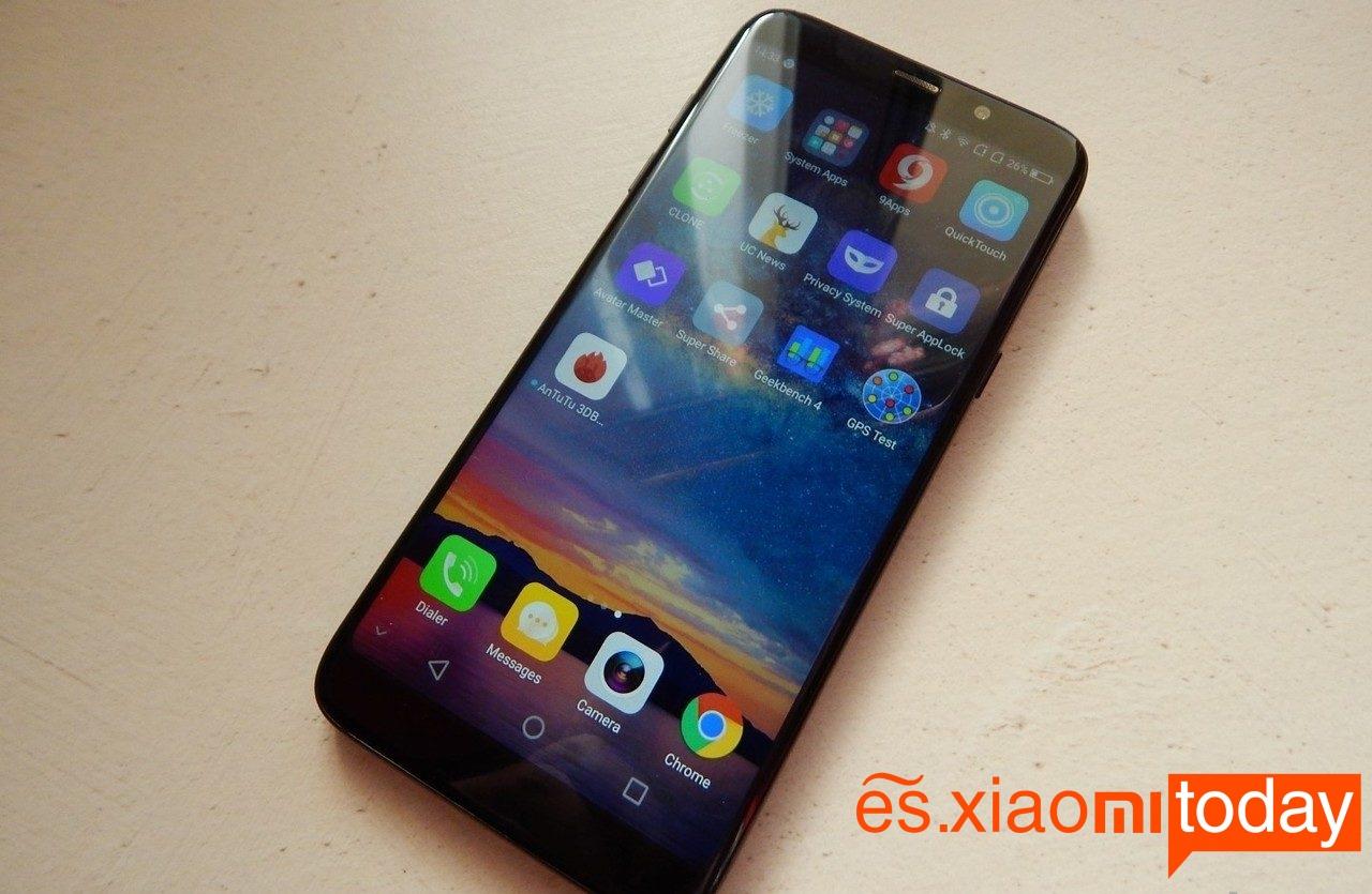 Bluboo S8 Plus, un smartphone con mejor diseño y acabados que su antecesor