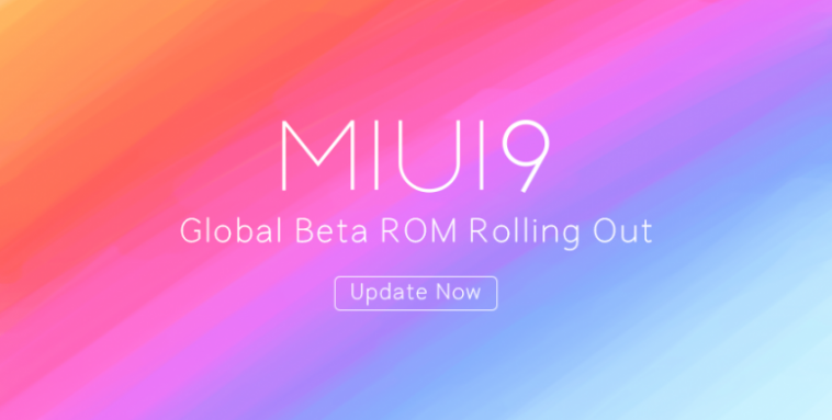MIUI 9 Beta global Destacada