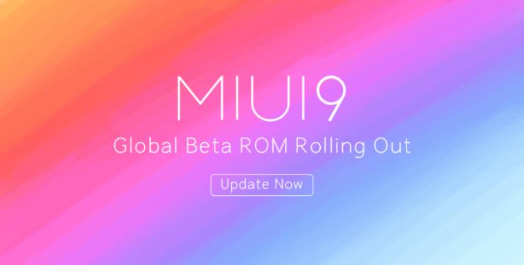 Beta Global de MIUI 9 ROM 8.3.29 - Descarga y lista de cambios