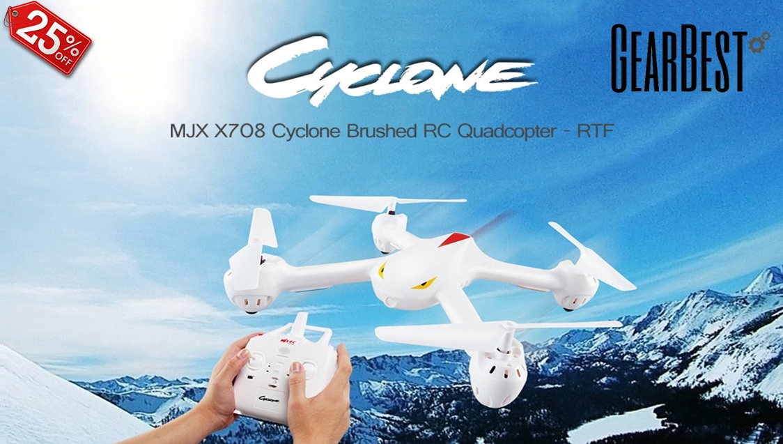 MJX X708 Cyclone Brushed RC