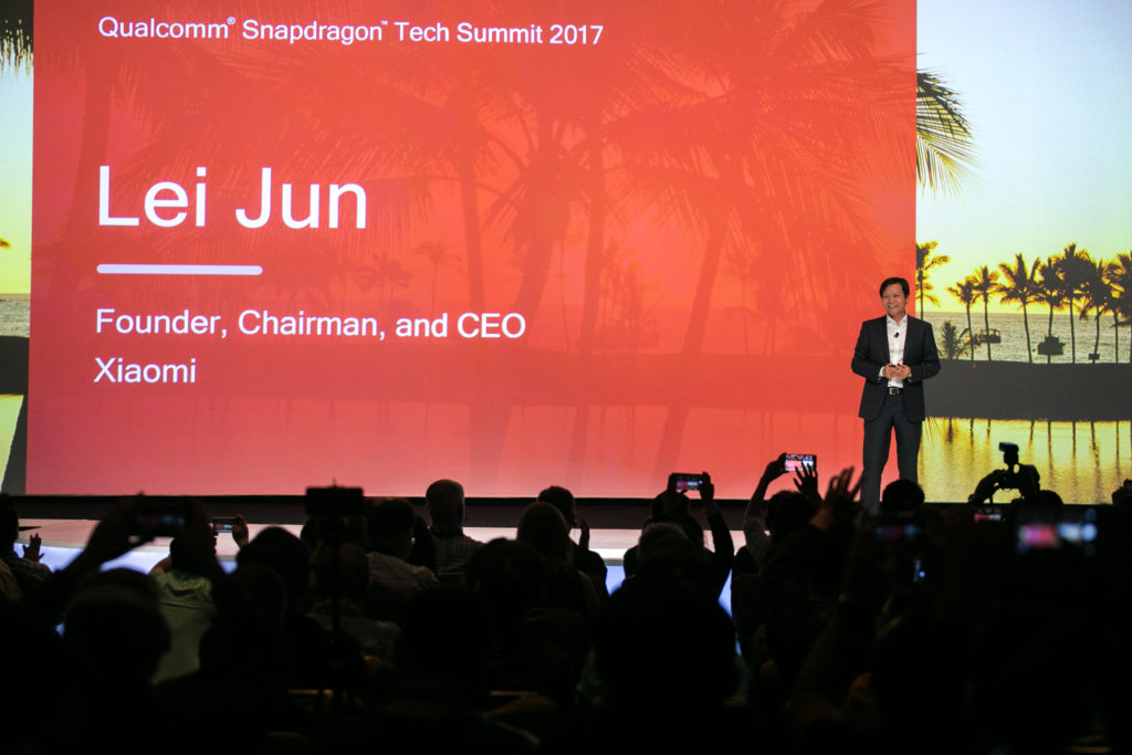 Lei Jun Xiaomi cumbre Qualcomm