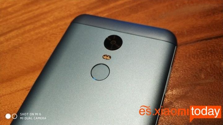 Xiaomi Redmi 5 Plus cámara principal