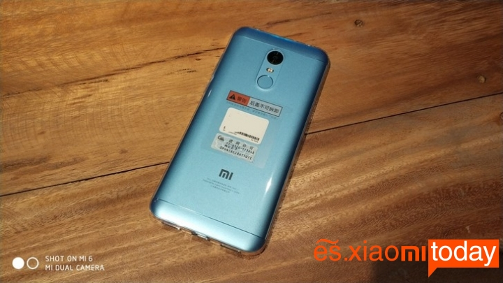 Xiaomi Redmi 5 Plus introducción