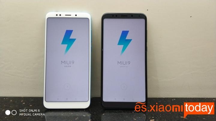 Xiaomi Redmi 5 Plus pantalla