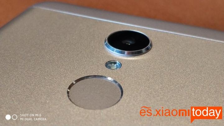 Xiaomi Redmi 5 cámara principal