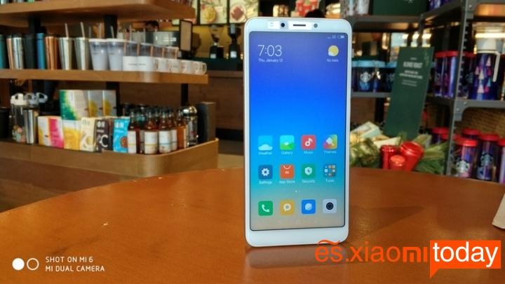 Xiaomi Redmi 5 destacada