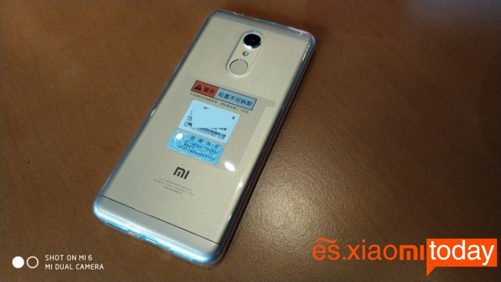 Xiaomi Redmi 5 introducción