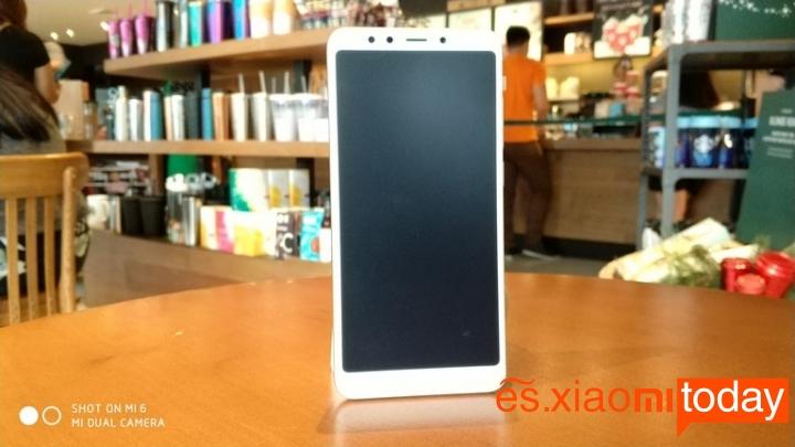 Xiaomi Redmi 5 pantalla