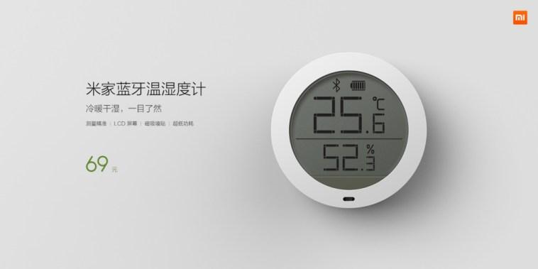 Xiaomi medidor temperatura y humedad destacad