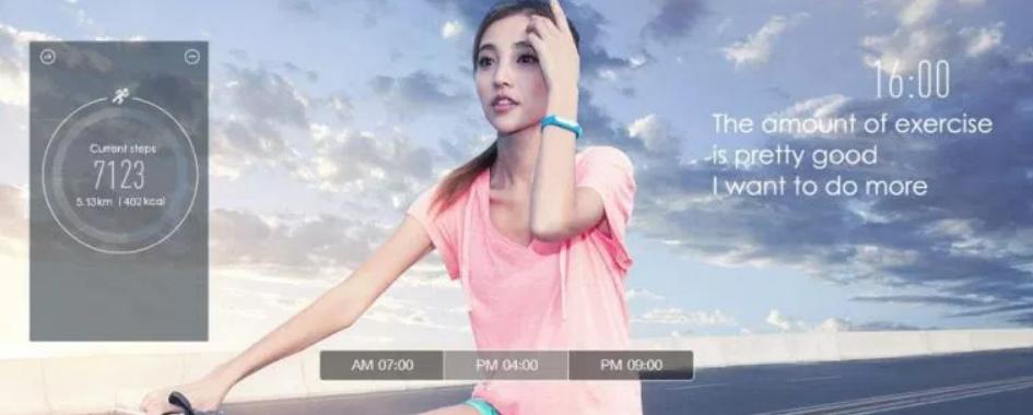 Xiaomi Mi Band 1S salud