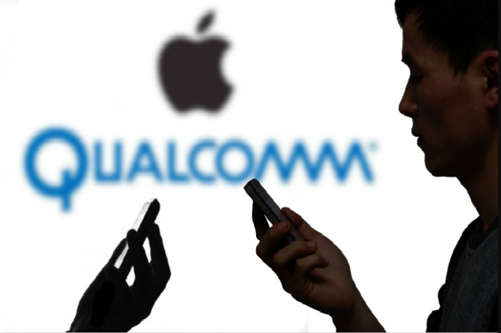 Problema legal entre Qualcomm y Apple