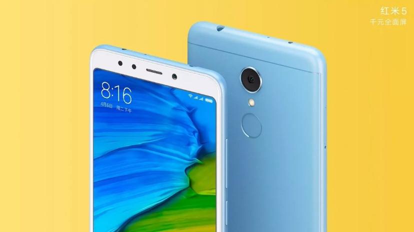 Xiaomi Redmi 5 especificaciones