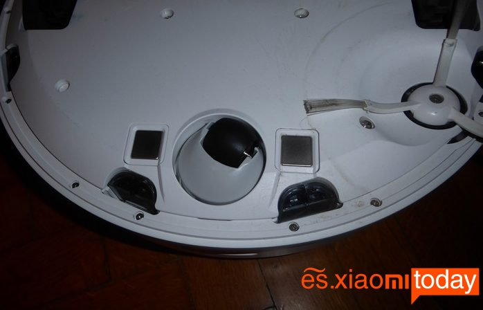 Xiaomi Roborock S50 - parte inferior