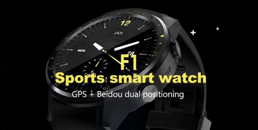 TenFifteen F1 Sports Smartwatch Phone Smartwatch